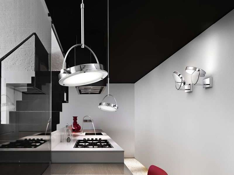 Come illuminare la cucina design mag for Lampade da soffitto di design