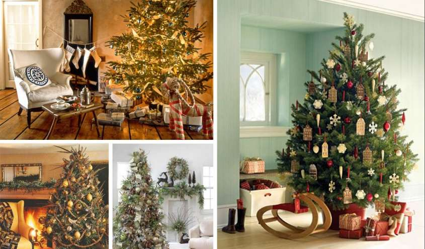 Alberi di natale country foto design mag - Natale country decorazioni ...