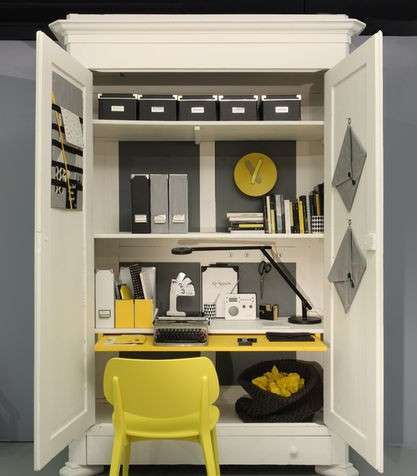 angolo studio a scomparsa foto design mag. Black Bedroom Furniture Sets. Home Design Ideas