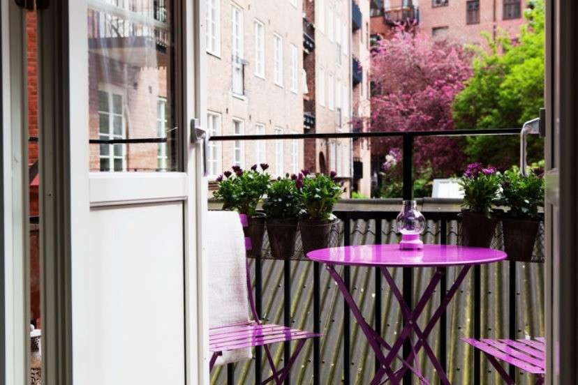Idee per arredare un balcone piccolo foto design mag for Idee per abbellire la camera