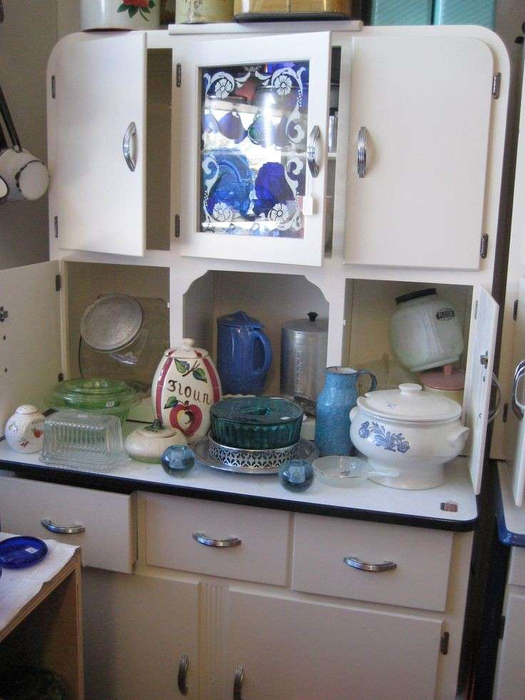 Kitchen Cabinet Vignette For Sale