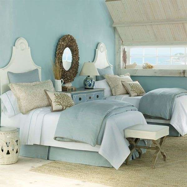 23 Beach Coastal Decor Ideas Inspired Home Decor: Camera Da Letto Stile Marina (Foto 13/40)