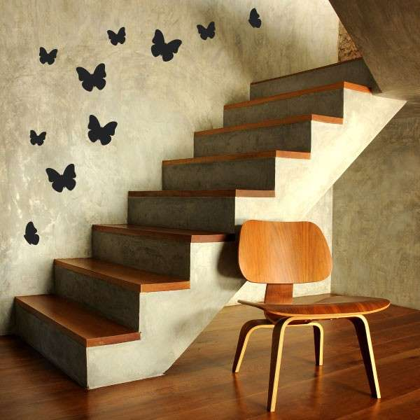 Come decorare casa con gli stencil foto 16 40 design mag - Farfalle decorative per pareti ...