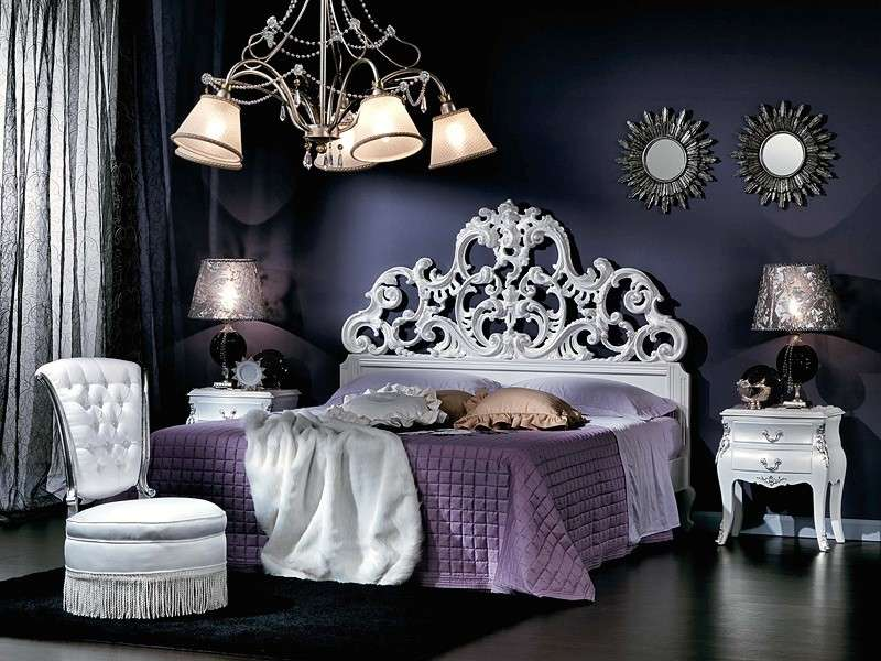 camera da letto in stile barocco foto 39 40 design mag. Black Bedroom Furniture Sets. Home Design Ideas