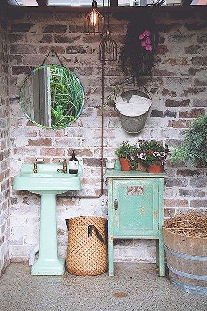 bagni stile country - 28 images - bagno completo stile country ...