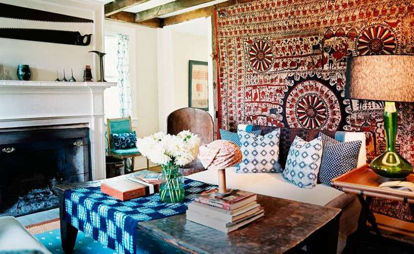 Arredare casa in stile hippie chic foto 22 40 design mag - Boho chic living room decorating ideas ...