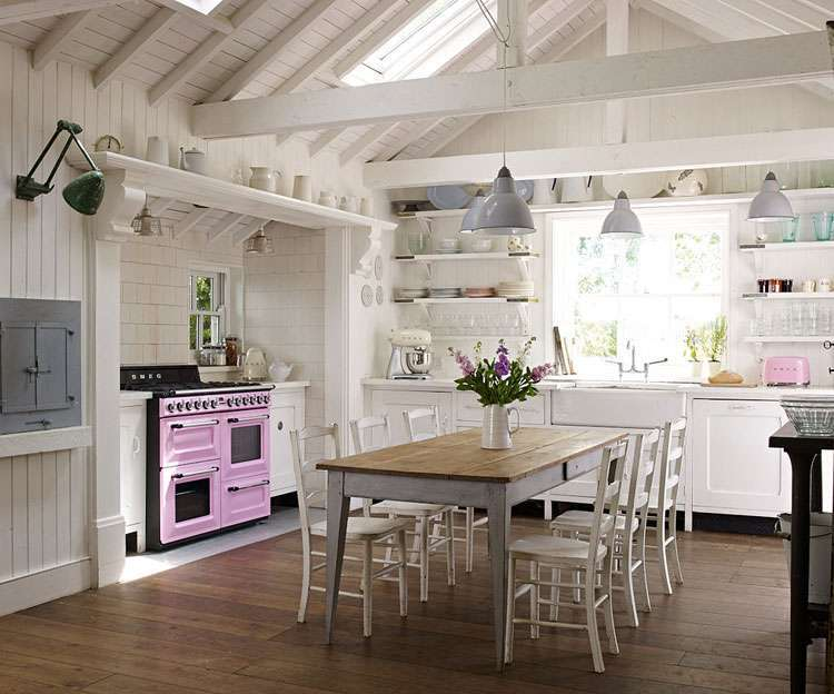 Arredare la cucina in stile country chic foto 24 40 for Arredare in stile country