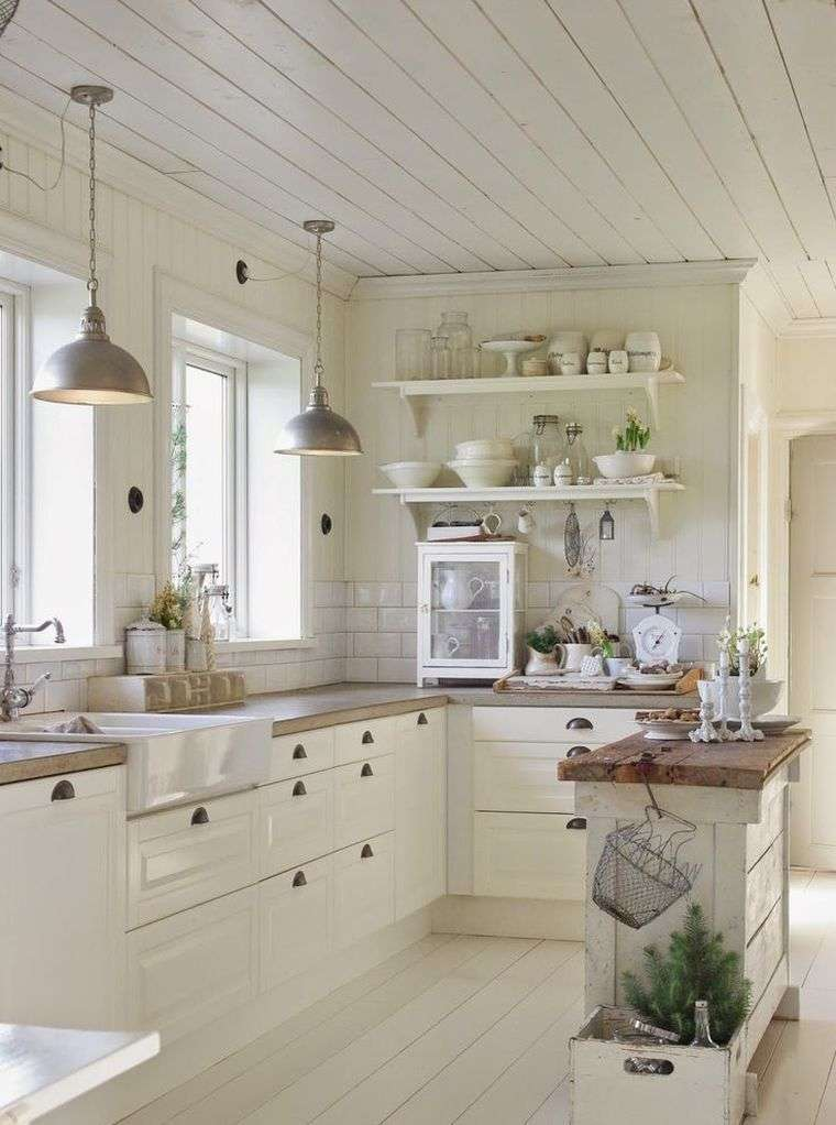 Cucine Country Con Isola Centrale. Awesome La Cucina Country Style ...