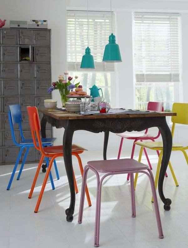 Awesome Sedie Colorate Per Cucina Pictures - Home Interior Ideas ...