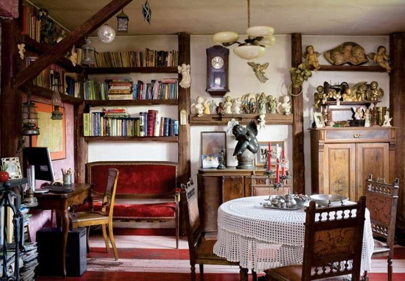 Antique Furniture Interior Design ~ Arredare casa con mobili antichi foto design mag