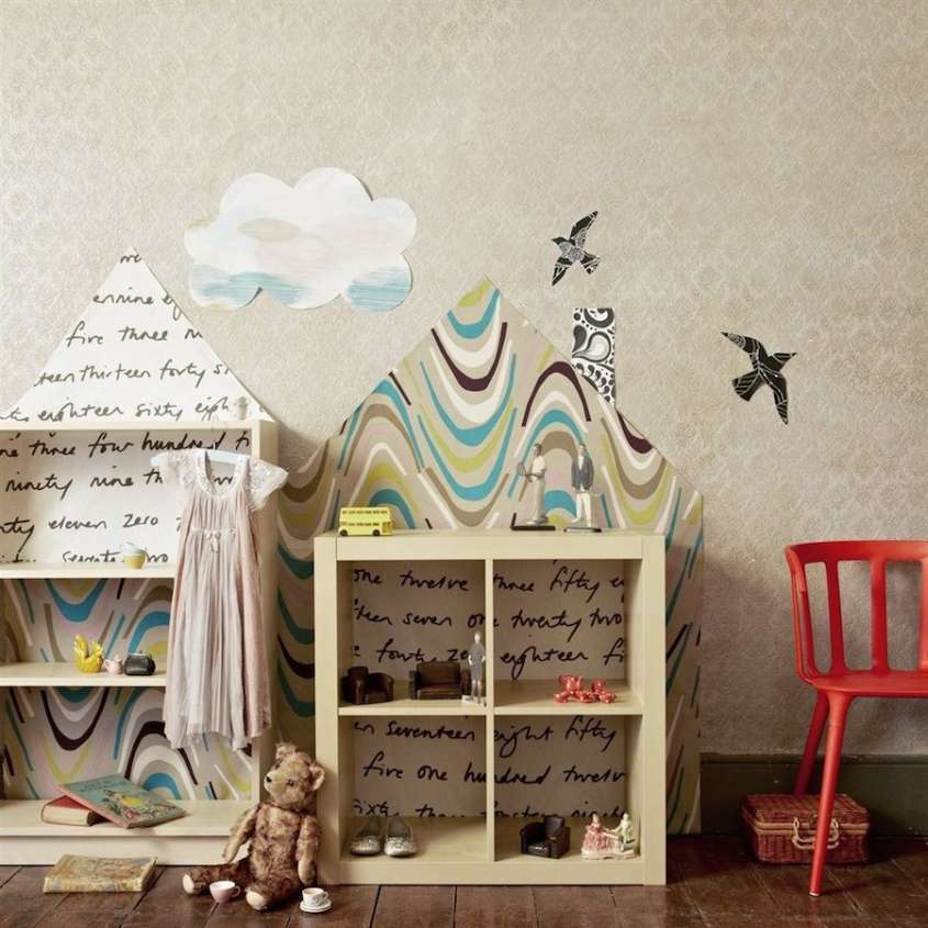 Decorazioni creative per la libreria foto 32 40 design mag - Scritte decorative ...