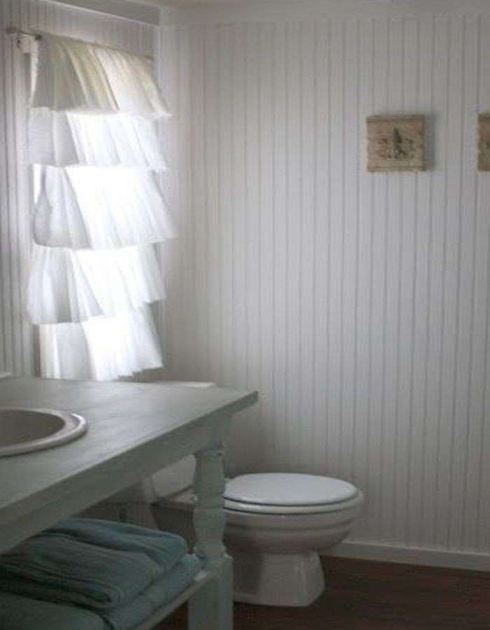 Tende per il bagno foto 31 40 design mag for Tende country chic