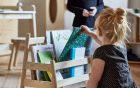 7 librerie in stile montessori da Pinterest