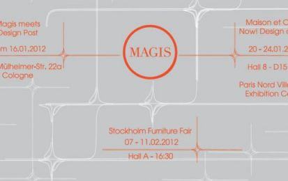 Magis agli eventi Imm Cologne, Maison & Objet e Stockholm Furniture Fair