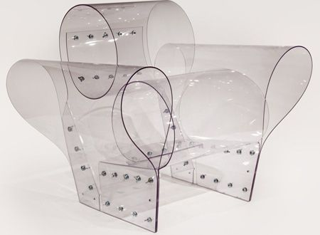 Poltrona Well Transparent Chair di Ron Arad