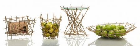 Alessi Blowup Bamboo collection dei fratelli Campana