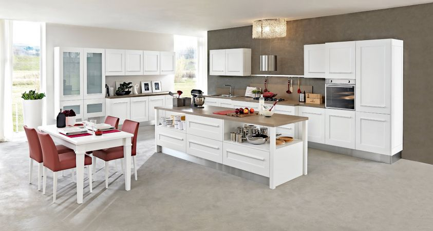 Fabulous Cucine Componibili Bianche Affordable Cucine Classiche Sassuolo  With Cucine Classiche Bianche