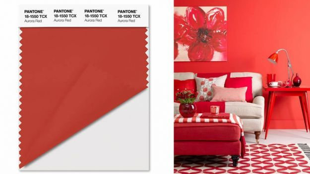 pantone aurora red - photo #27