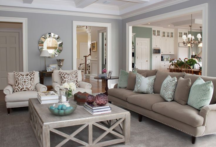Come arredare il soggiorno in stile americano per un for How to find a designer for home