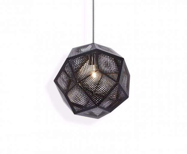 Etch Pendant Black