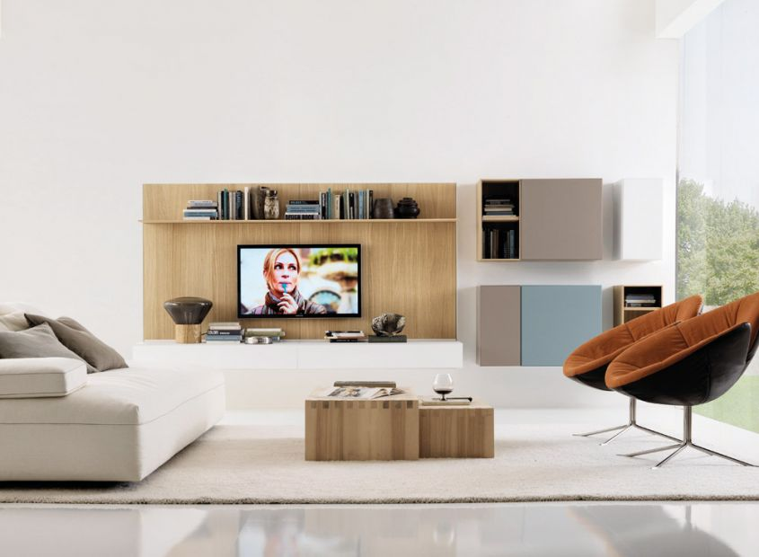 Mobili per la tv di design le idee creative per una casa for Design di mobili commerciali