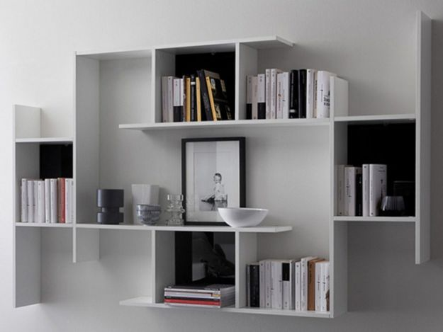 come scegliere la libreria le idee per arredare con stile. Black Bedroom Furniture Sets. Home Design Ideas