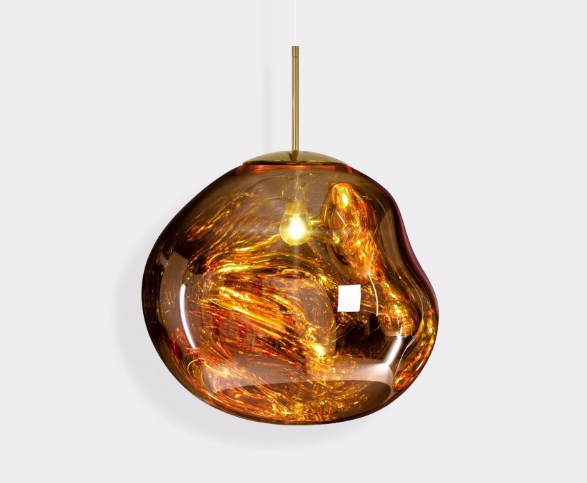 Melt Pendant Gold