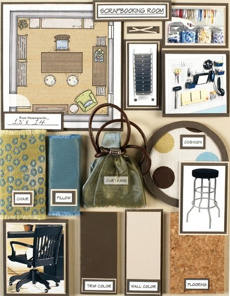Come creare una moodboard e lasciarsi ispirare design mag for What is a sample board in interior design