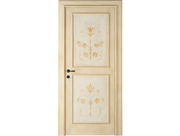 Porte decorate 5 idee a cui ispirarsi design mag - Porte interne antiche ...
