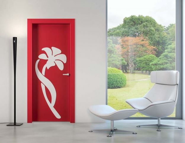 Porte decorate 5 idee a cui ispirarsi design mag for Immagini moderne