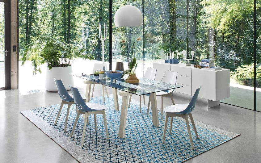 Tavoli calligaris i pi belli del 2016 design mag for Ingressi moderni calligaris