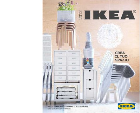 Tutte le novit del nuovo catalogo ikea 2012 design mag for Catalogo ikea on line