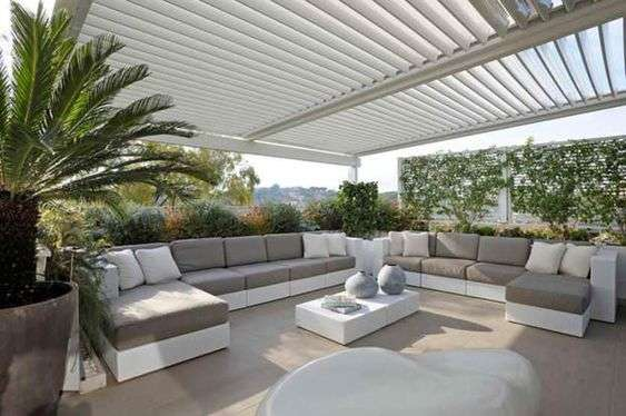 Best terrazze arredate con piante contemporary modern home