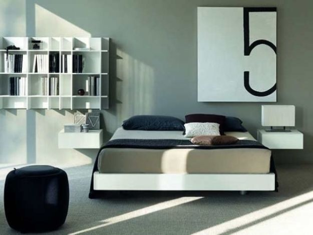 10 idee per arredare una camera da letto moderna design mag for Mensole moderne camera da letto