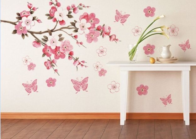 Come decorare una parete bianca con fantasia e creativit - Decorare muri interni ...