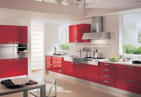 Cucine febal playa colors perfetta per la casa al mare - Case colorate interni ...