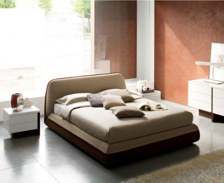 supersoft bed calligaris