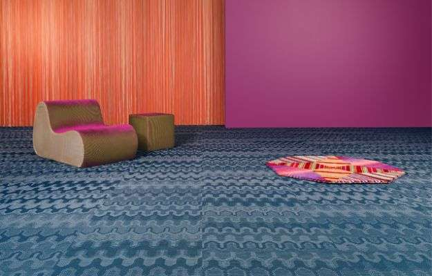 Bolon by Missoni, trama geometrica