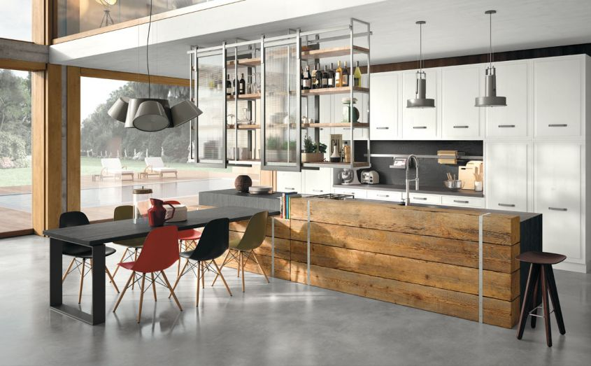 Top Cucine Moderne.Top Cucine In Legno Massello Moderne Ideas