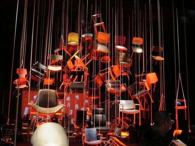 Present Past Future installazione per Kusch+Co