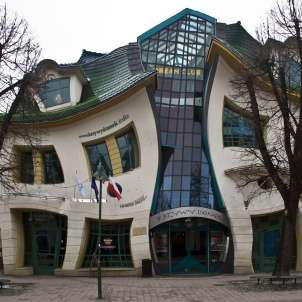 Crooked House a Sopot in Polonia