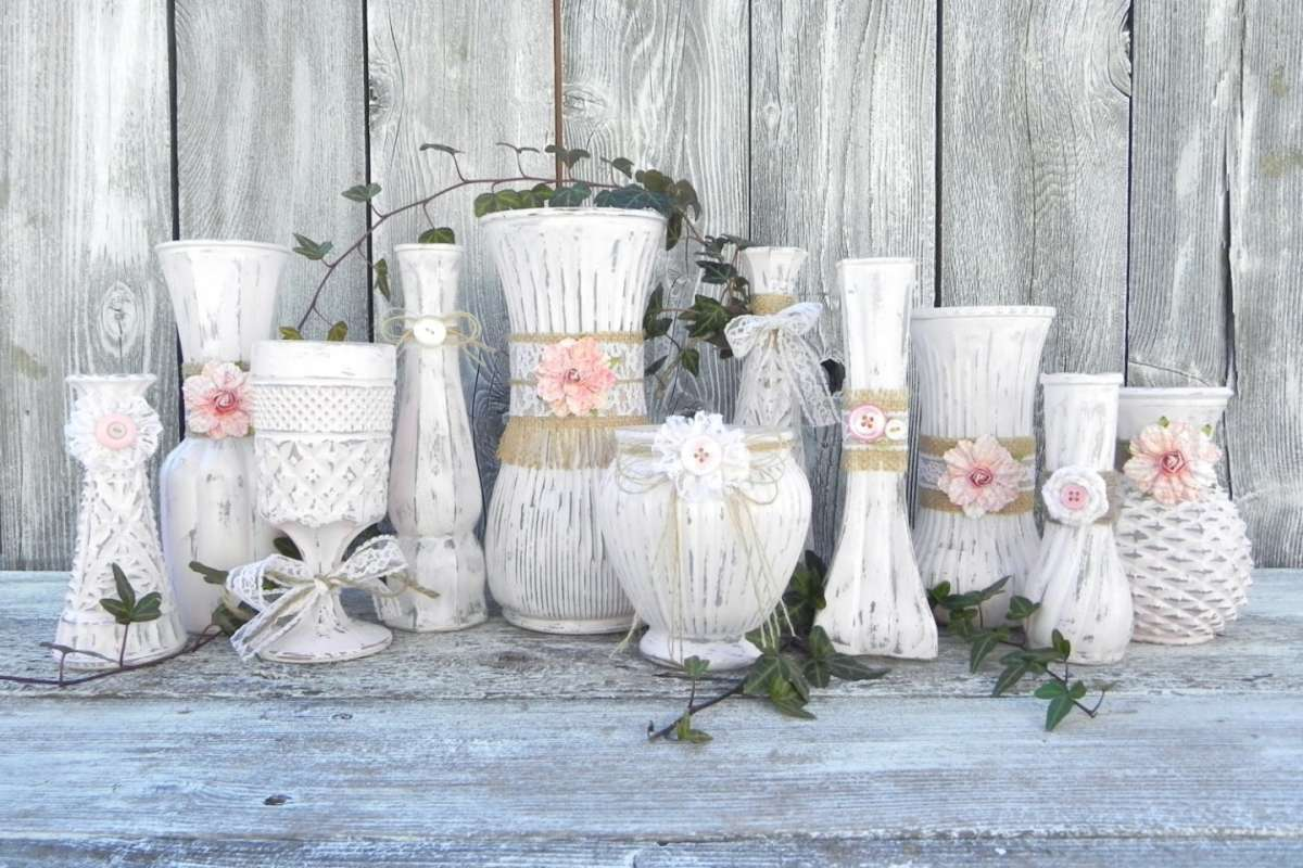 Complementi d'arredo in shabby chic style