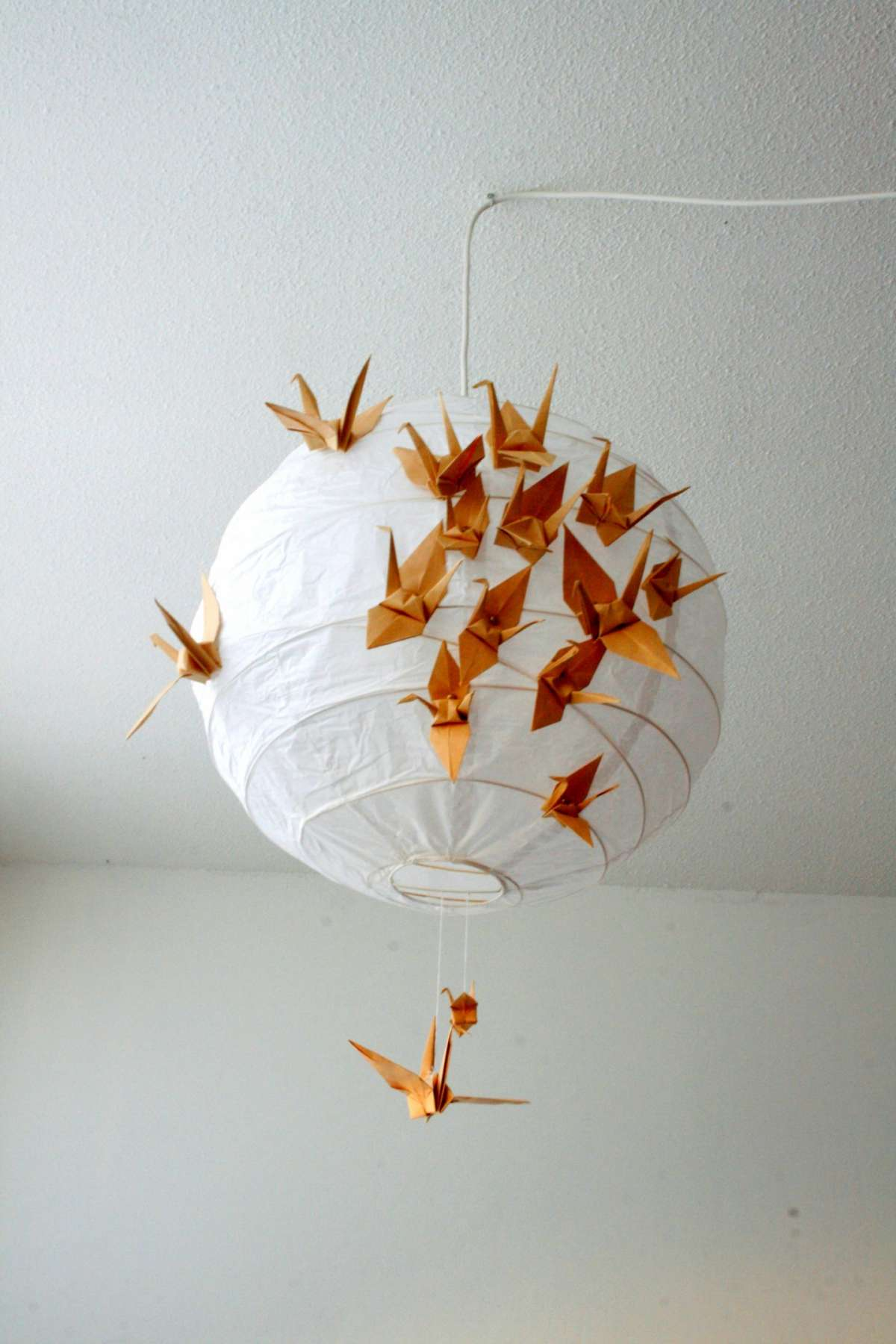 Lampadario decorato