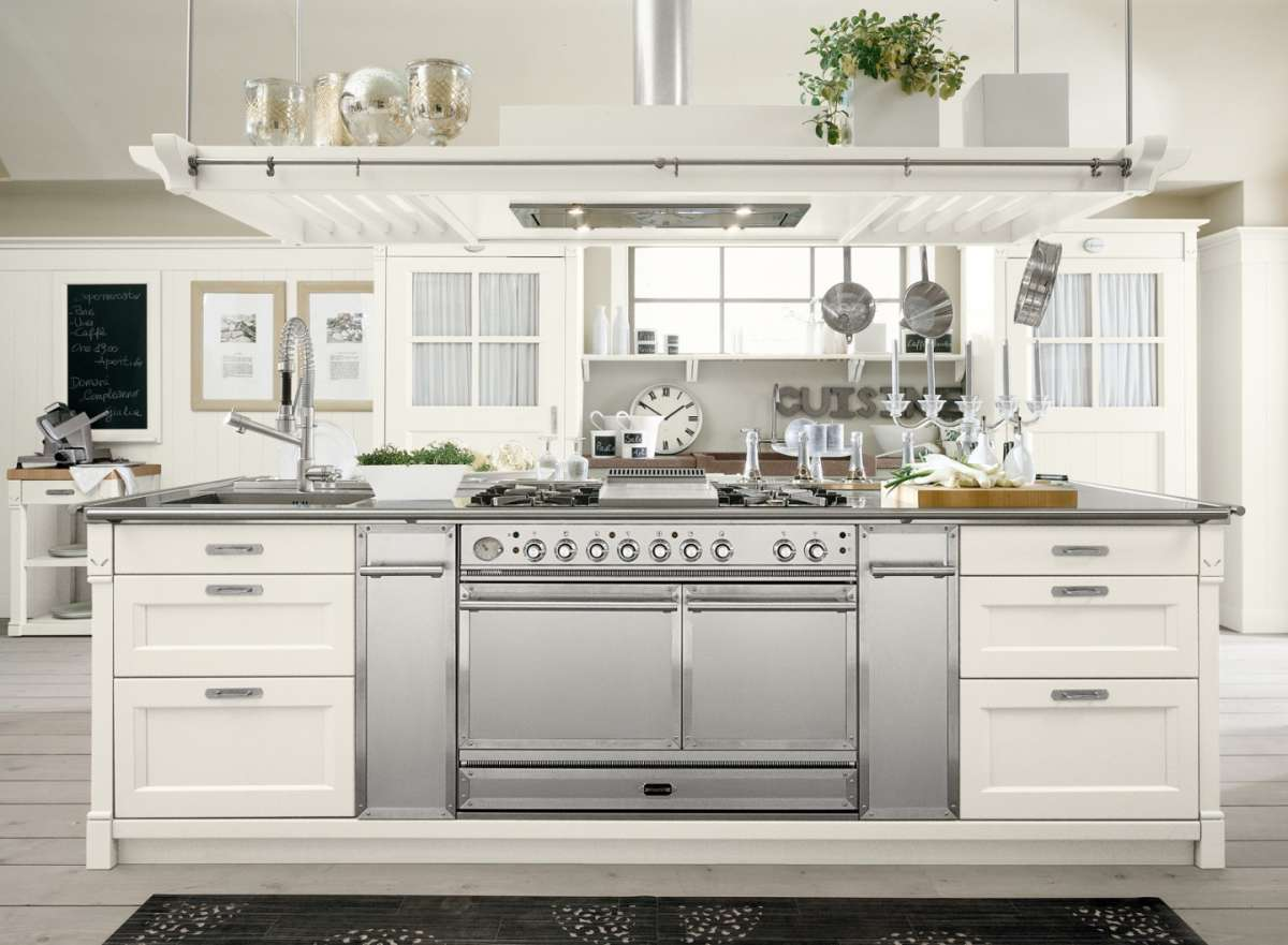 Cucina di design all'americana