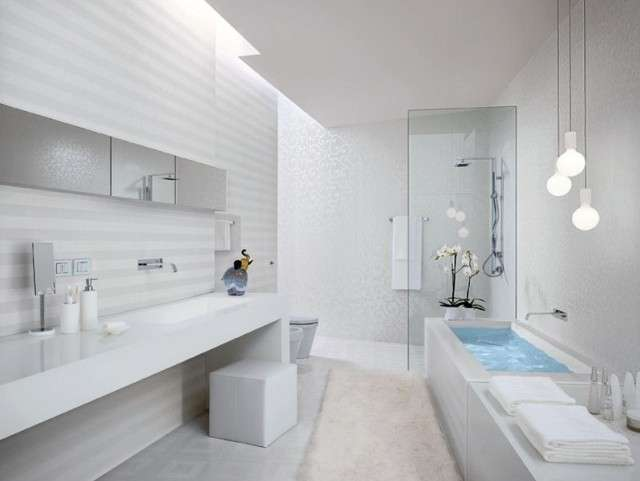 Bagno cieco in total white