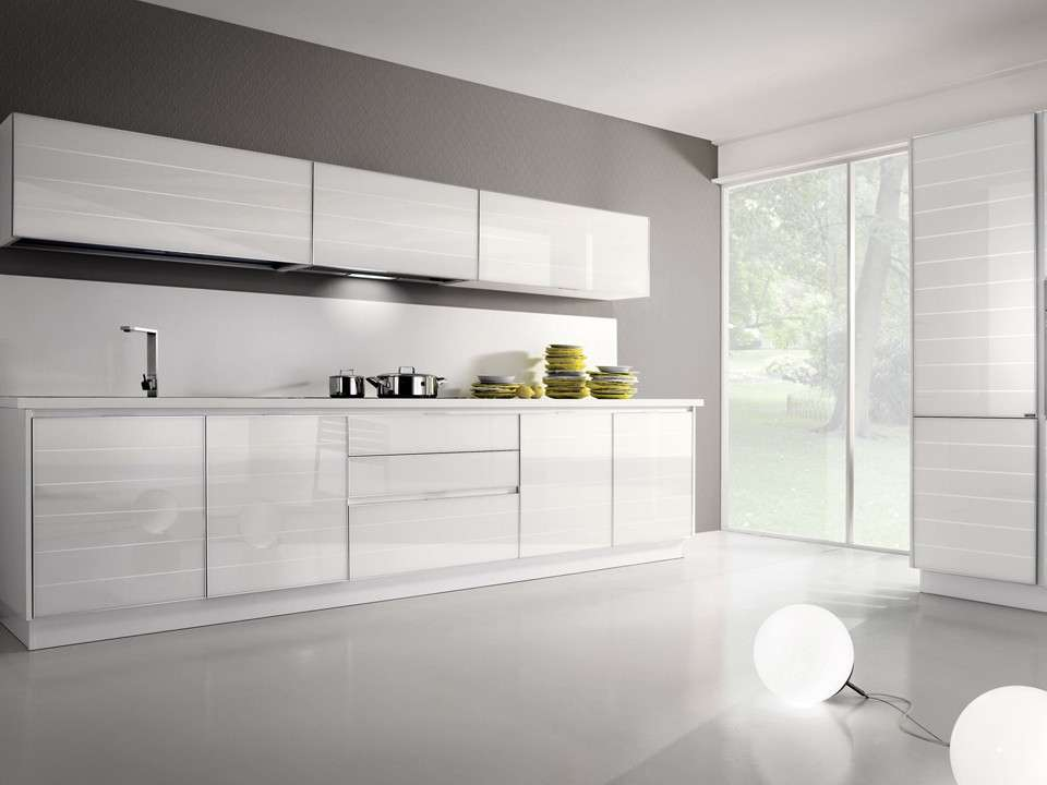 Stunning Cucine Bianche Lucide Photos - acrylicgiftware.us ...