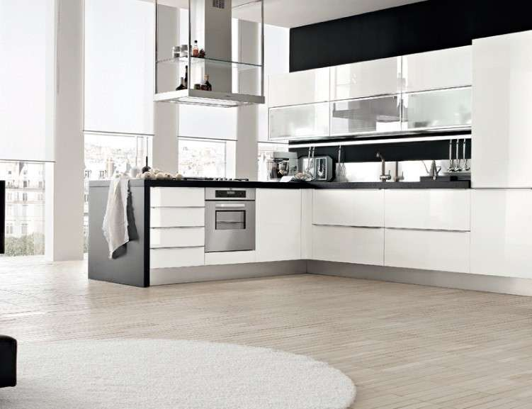 Best Cucine Bianche Moderne Pictures - Amazing House Design ...