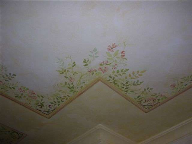 Soffitto floreale