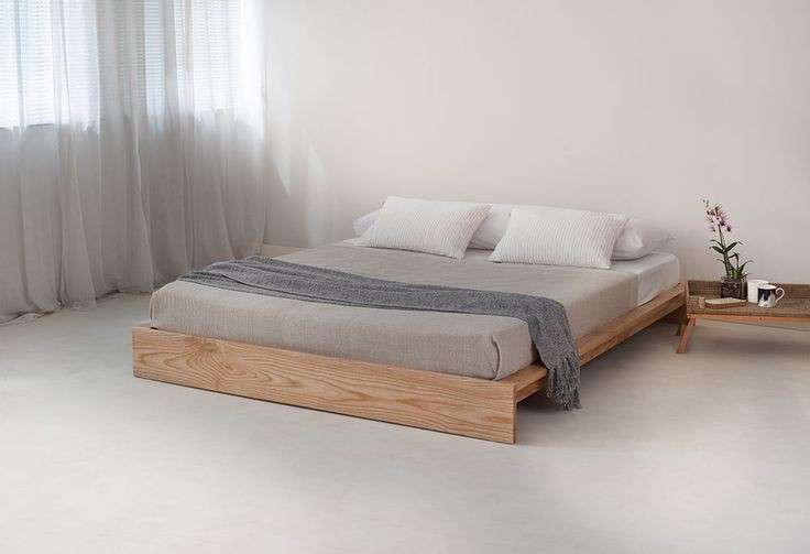 Letto in stile giapponese