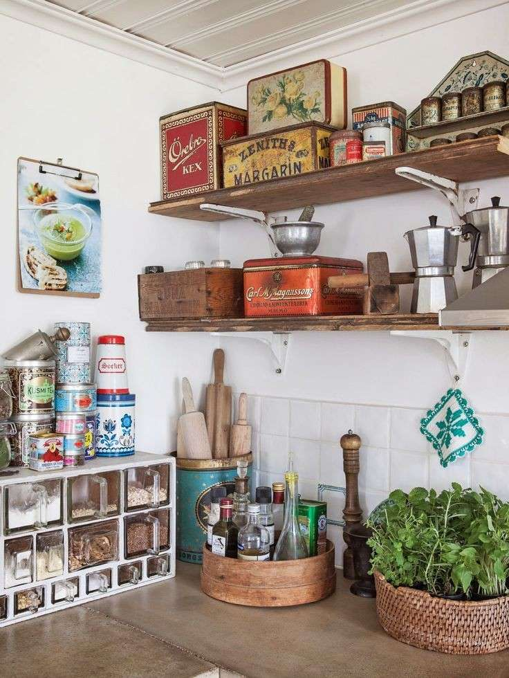 Arredare una cucina in stile shabby chic foto design mag for Case shabby chic country